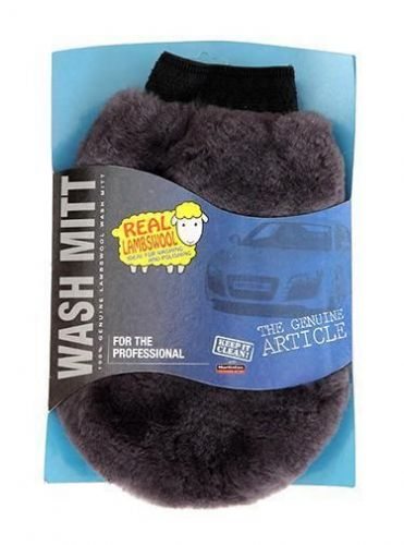 Lambs Wool Wash Mitt Genuine Sheepskin